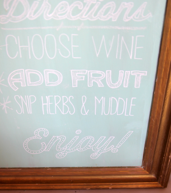 perfect chalkboard lettering how-to