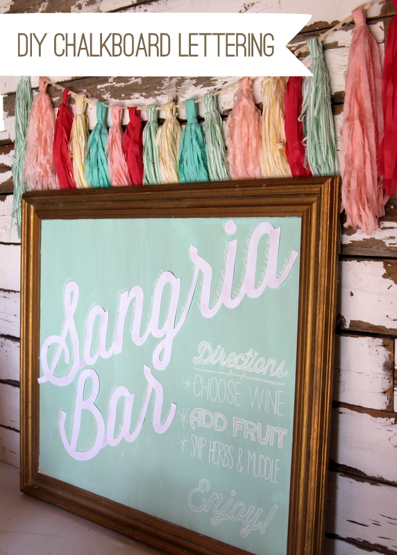 chalkboard lettering like a pro- how to DIY amazing chalkboard signs