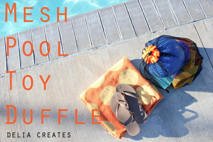 mesh pool bag at delia creates