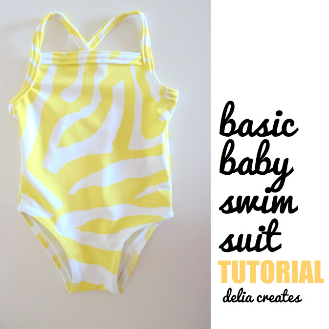 baby swimsuit tutorial