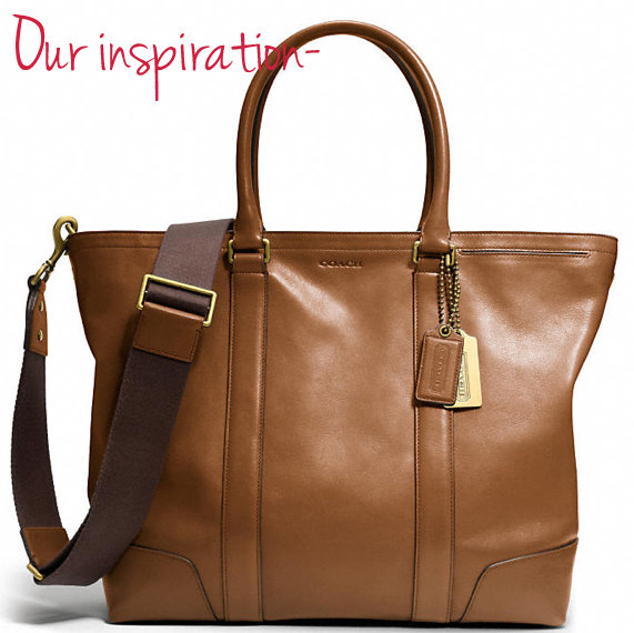 our inspiraction- bleecker legacy tote by coach