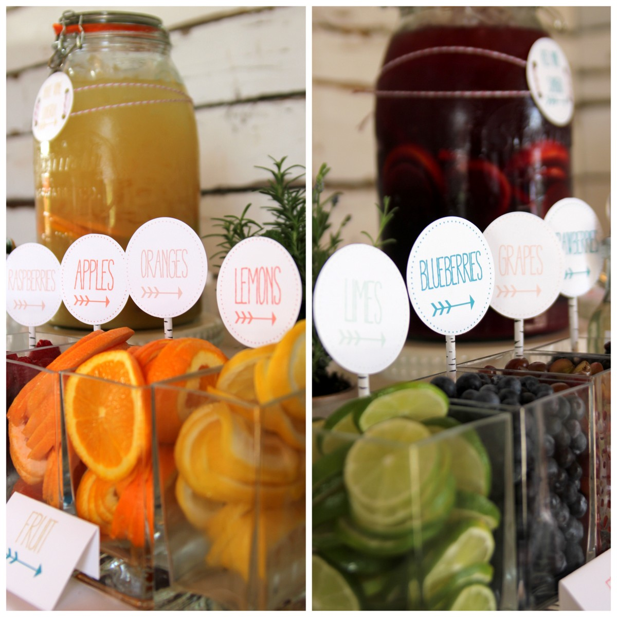 The ultimate sangria bar summer s best drink station Good fruity drinks to get at a bar