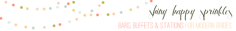 shiny happy sprinkles etsy shop- bar, buffets, and stations printables