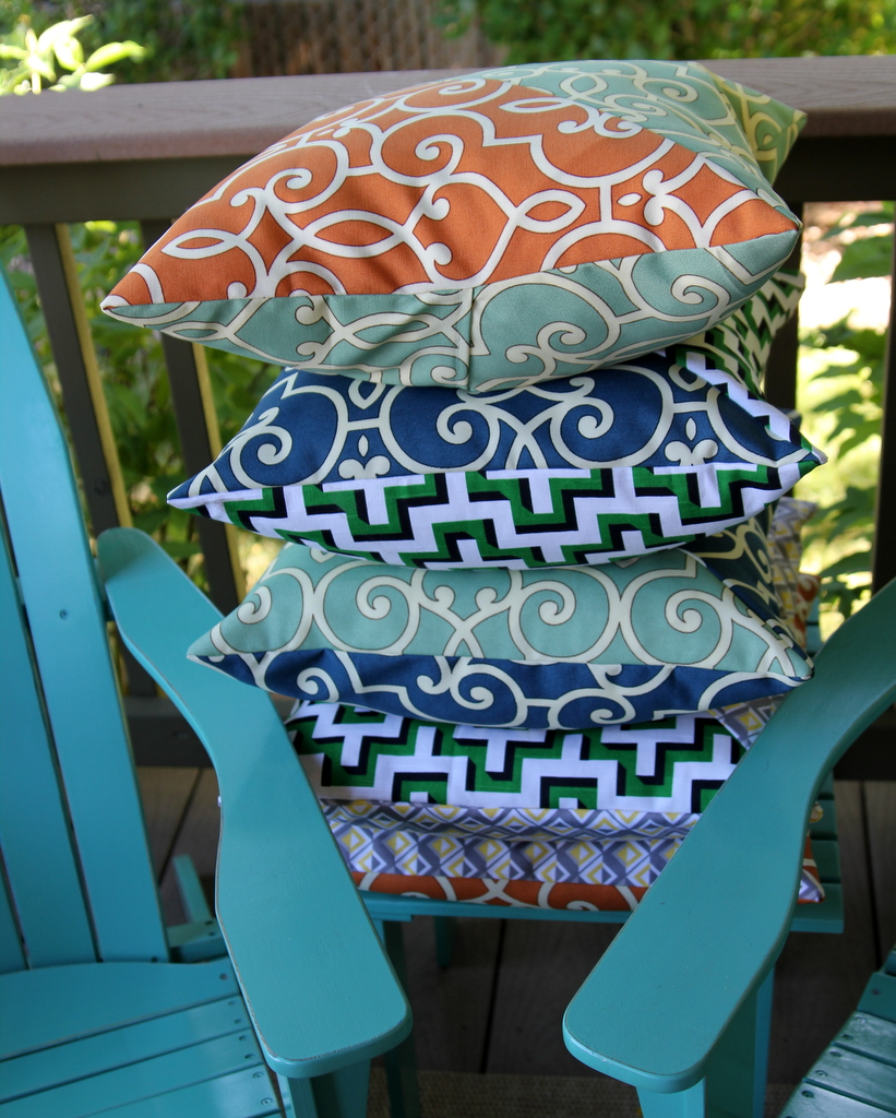 how to make porch pillows