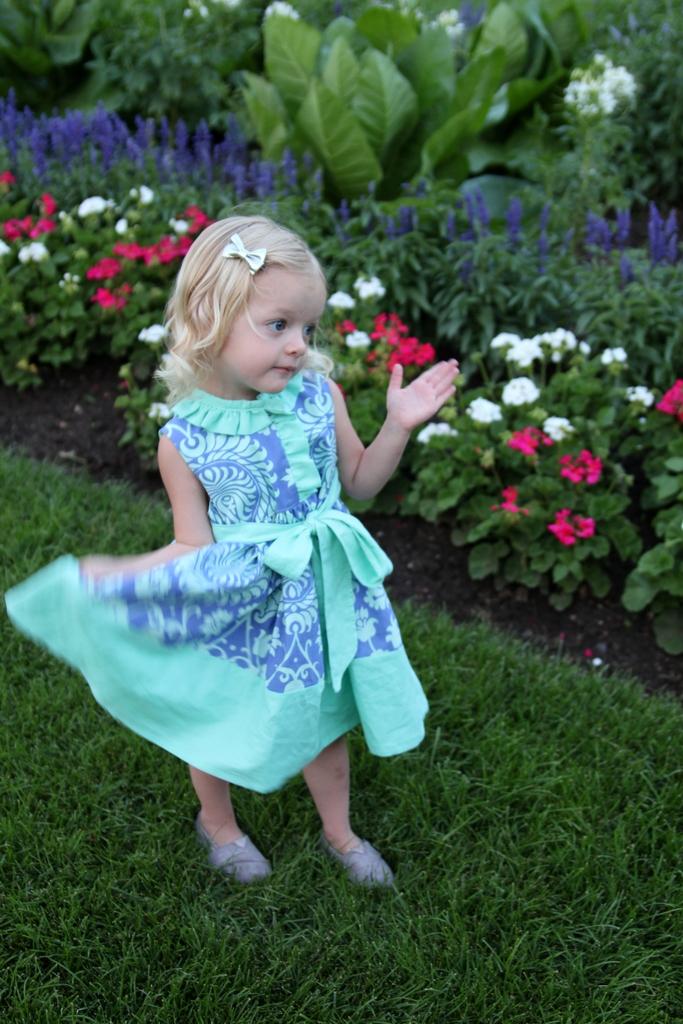 miss matilda dress- cottage mama pattern tour