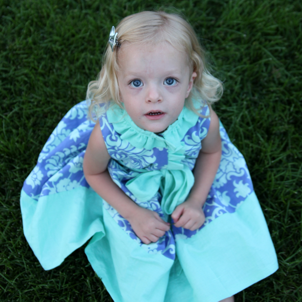 miss matilda dress for the cottage mama pattern tour