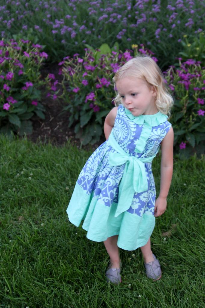 miss matilda dress- the cottage mama pattern tour