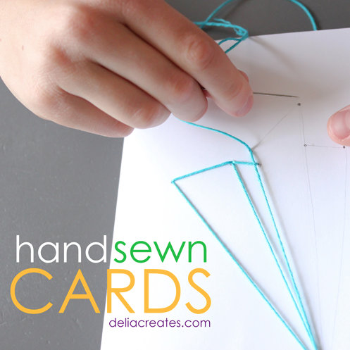 handsewn cards