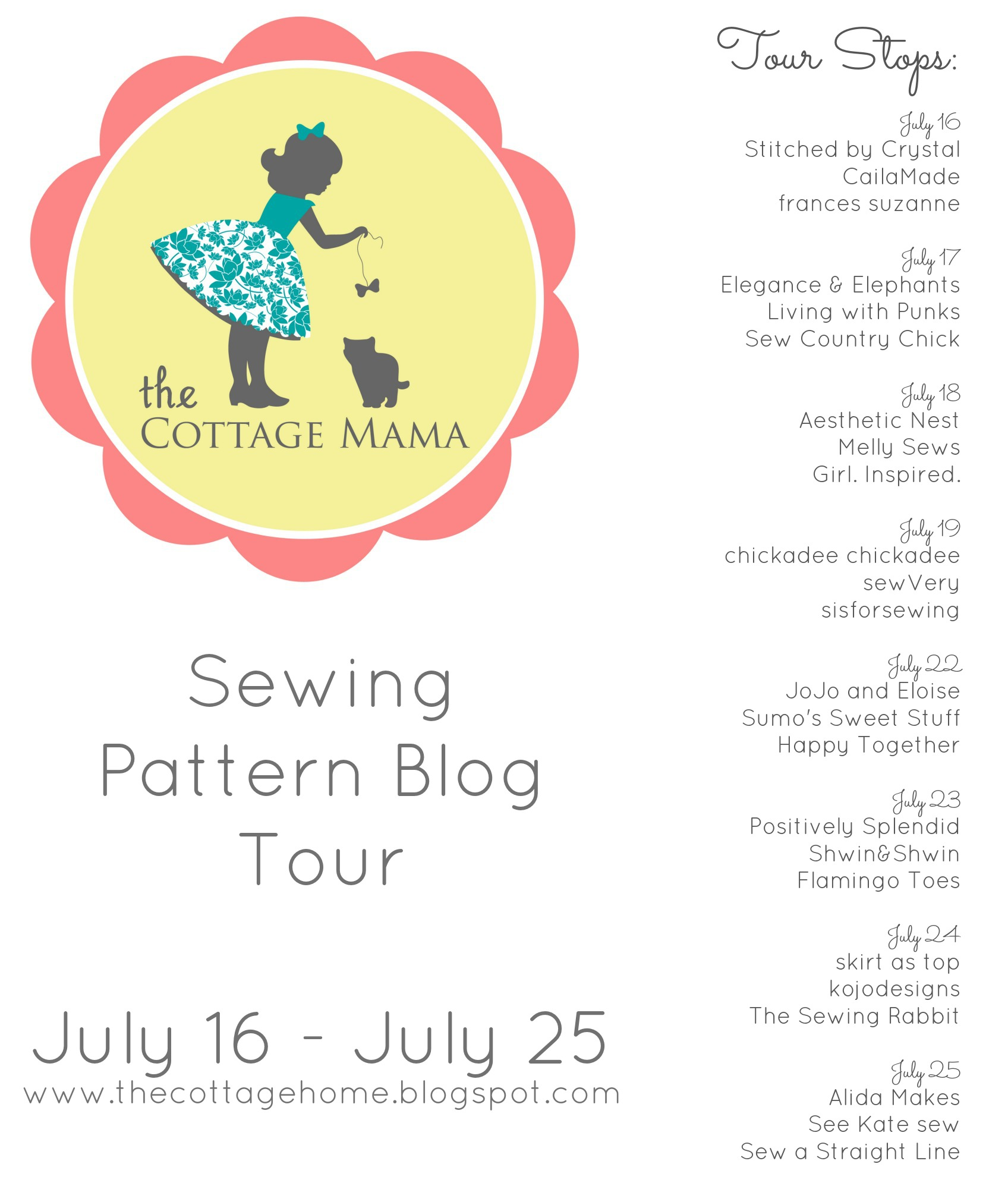 Cottage Mama Pattern Tour