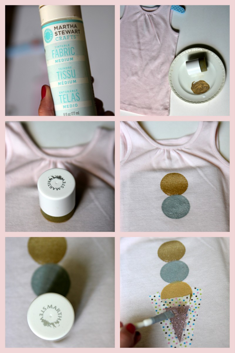 how to make a stamped shirt
