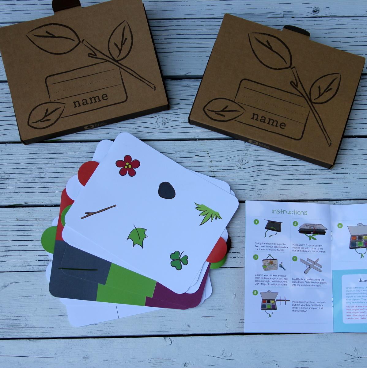 kiwi crate kid's nature kits