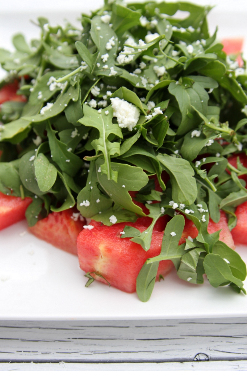 arugula watermelon salad recipe