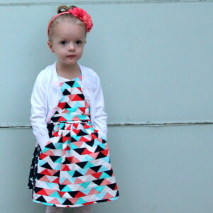 darling triangle dress