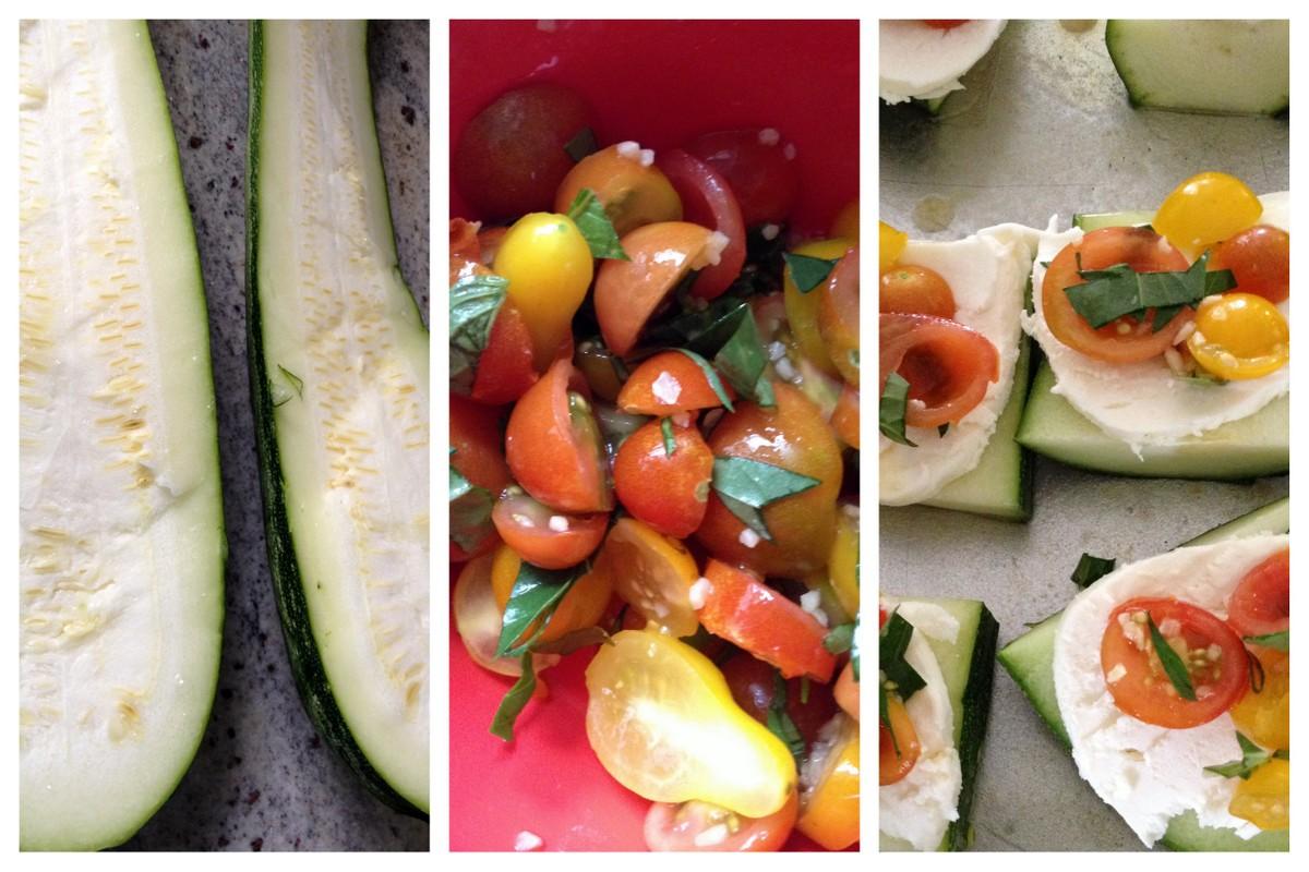 caprese zucchini boats recipe