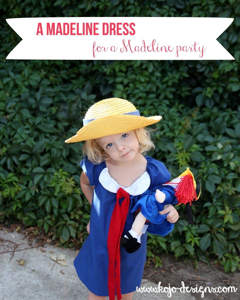 A Madeline dress for a Madeline party