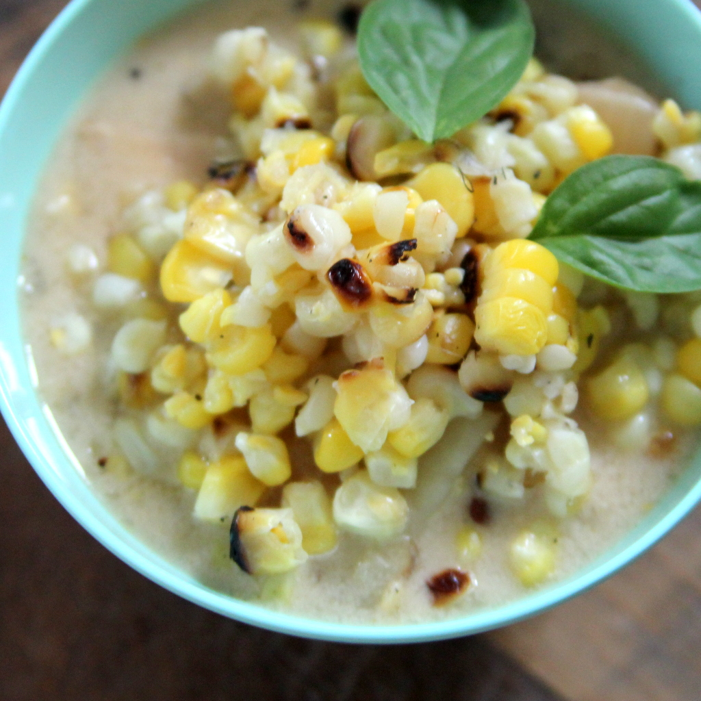 grilled corn chowder recipe