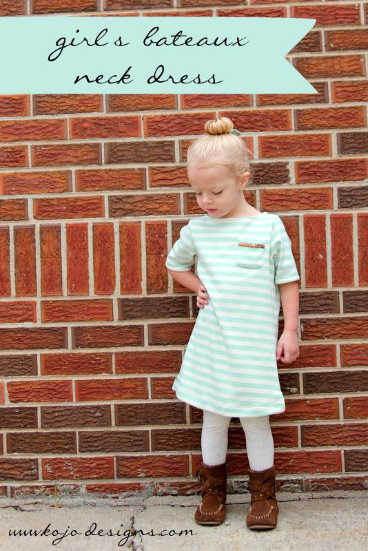 back to school bateau- a line dress