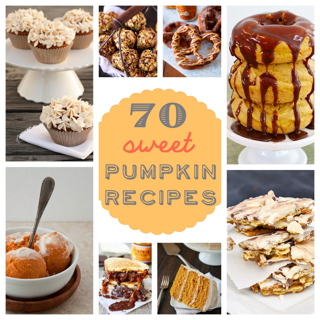 70 sweet pumpkin recipes