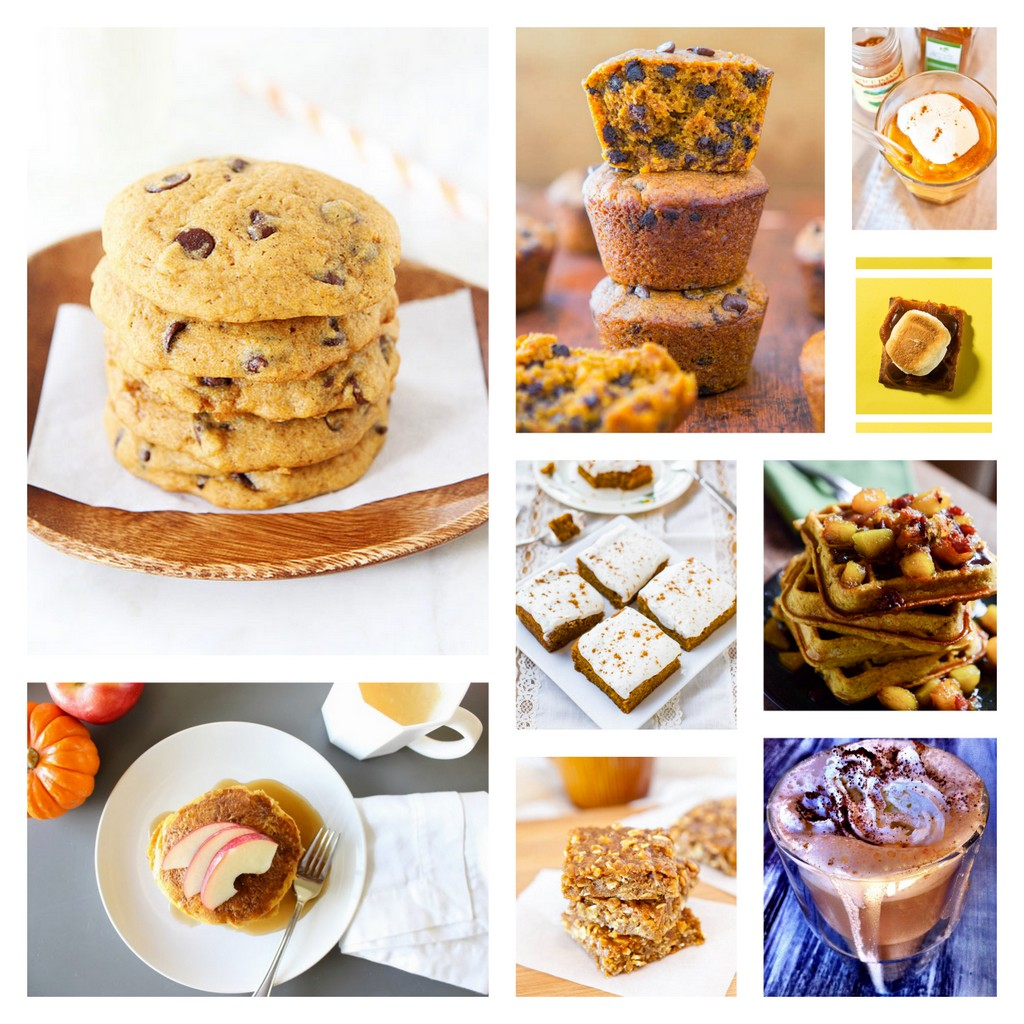 sweet pumpkin recipe roundup