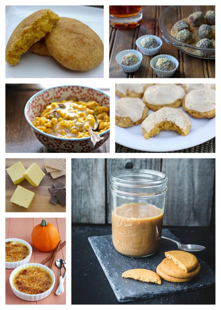 sweet pumpkin recipes