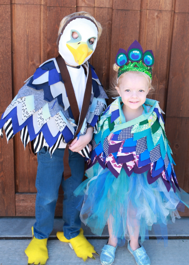 peacock and eagle halloween costumes
