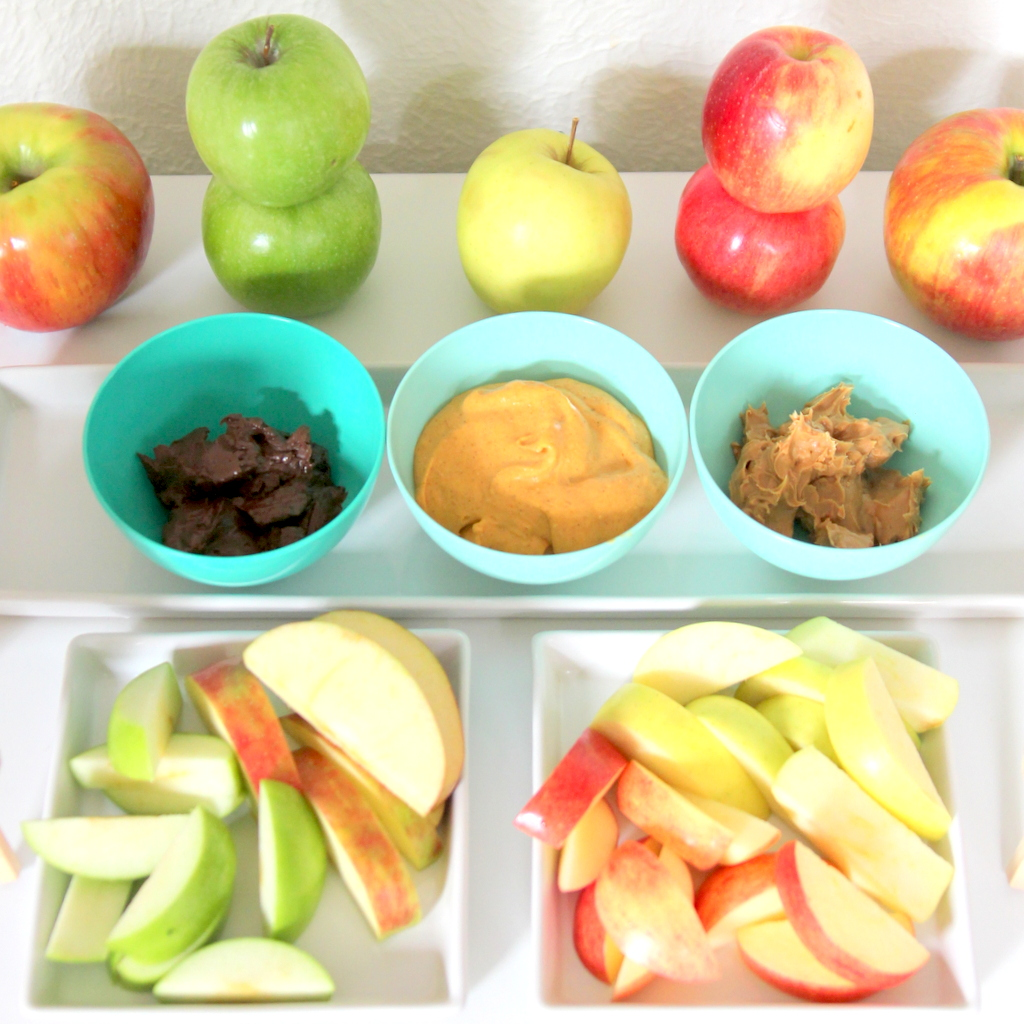 fall family fun- apple taste testing (with free printable chart)