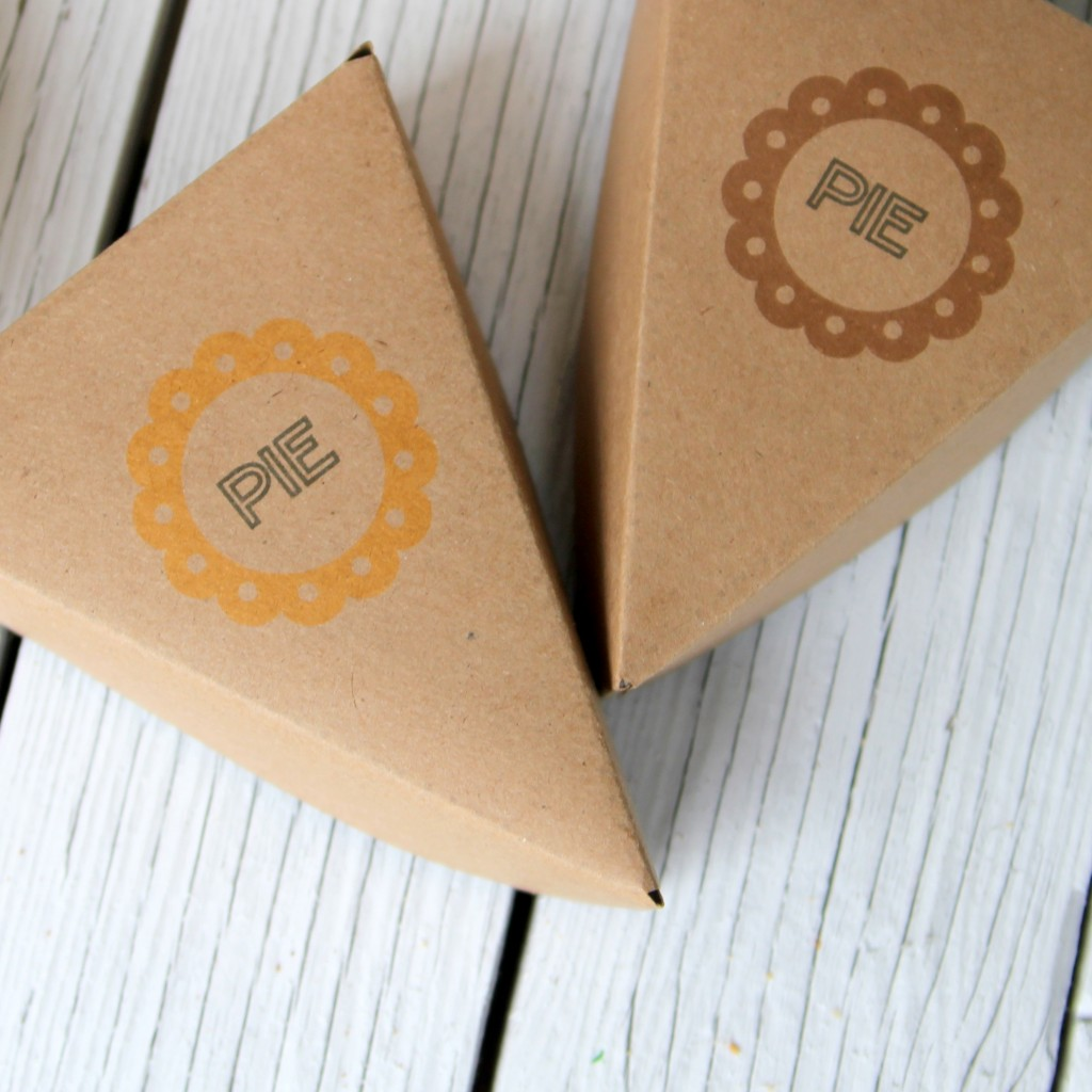 pie boxes- free printables