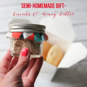 homemade honey butter gift