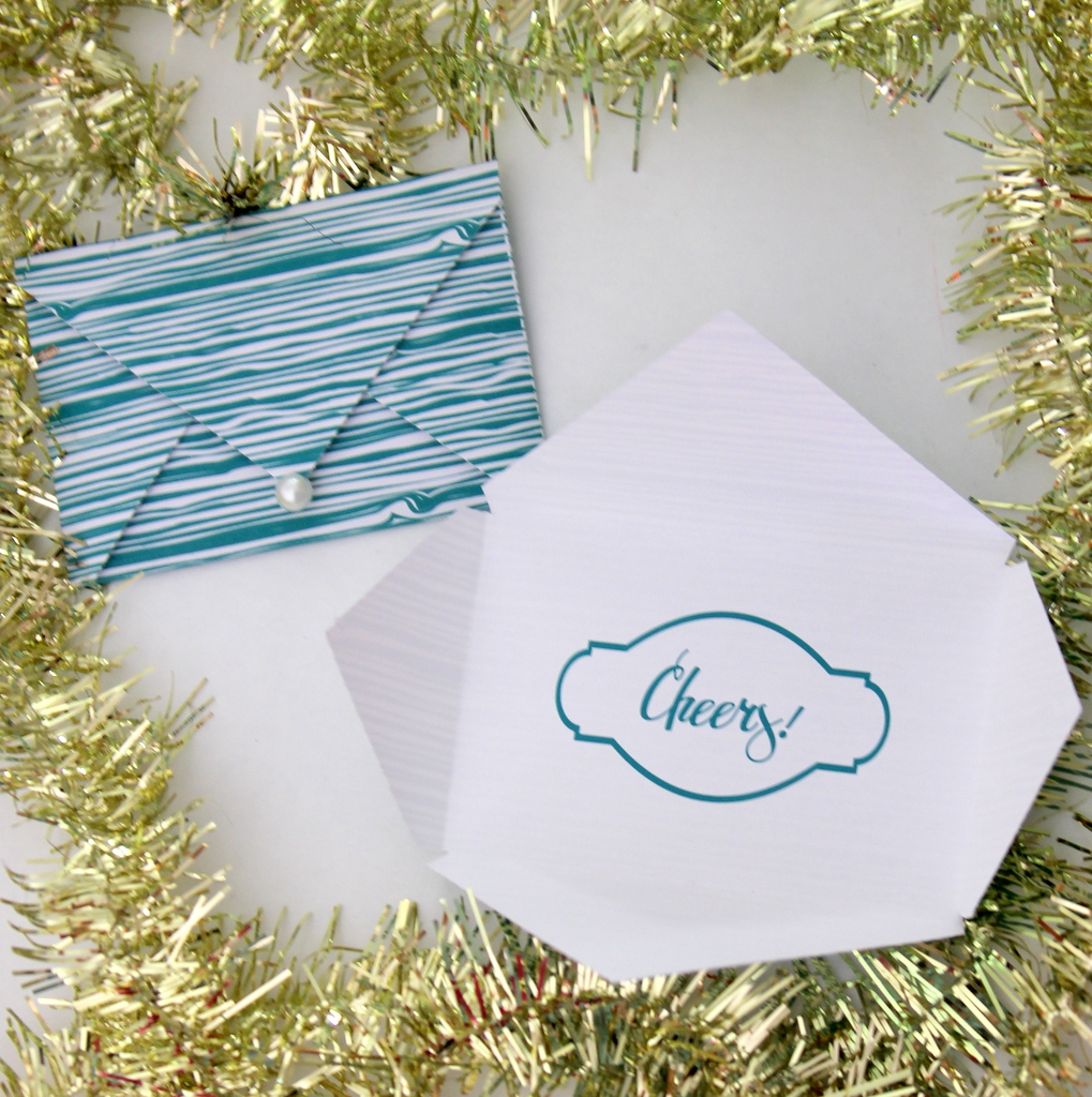 free printable gift card envelope