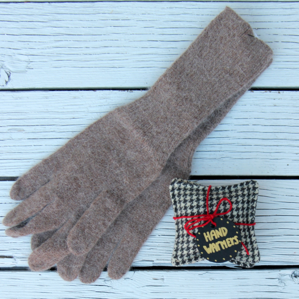 DIY hand warmers- simple sewing project