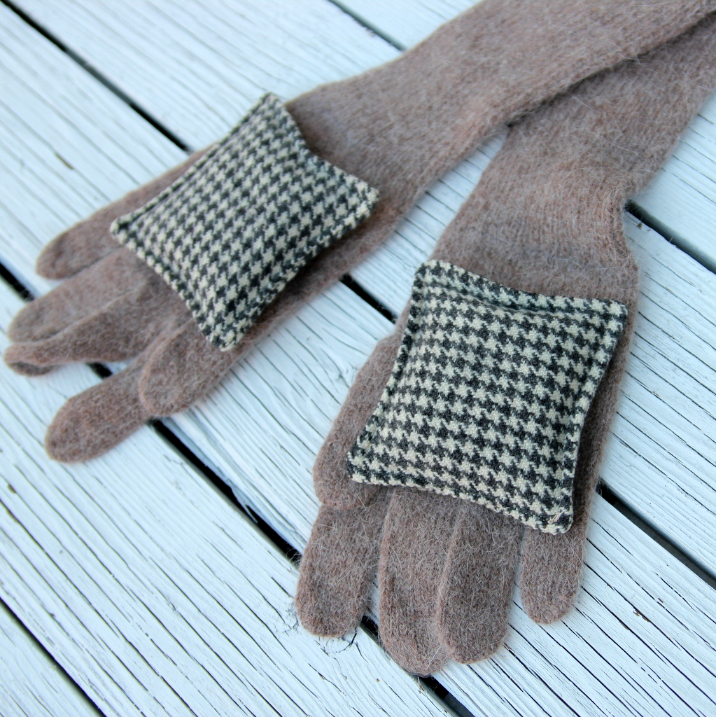 simple sewing project- DIY handwarmers