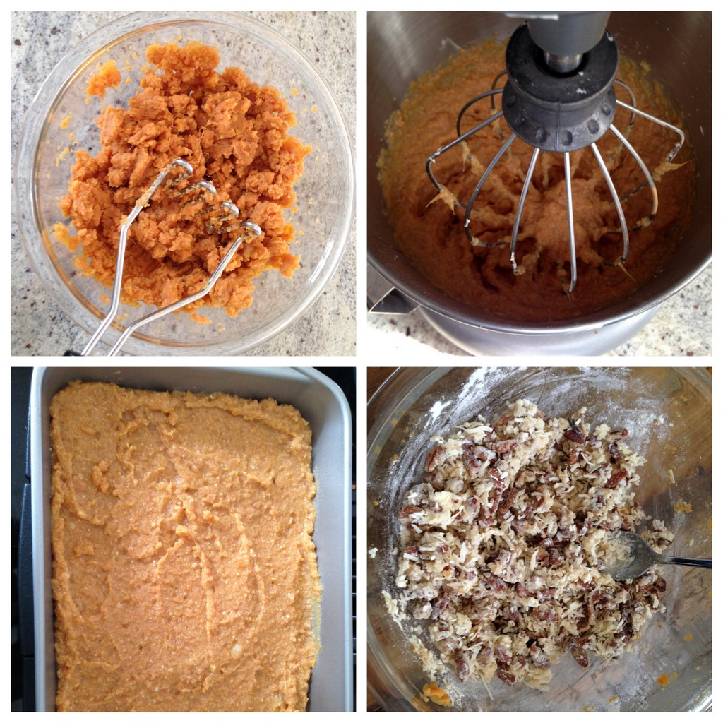 how to make sweet potato casserole