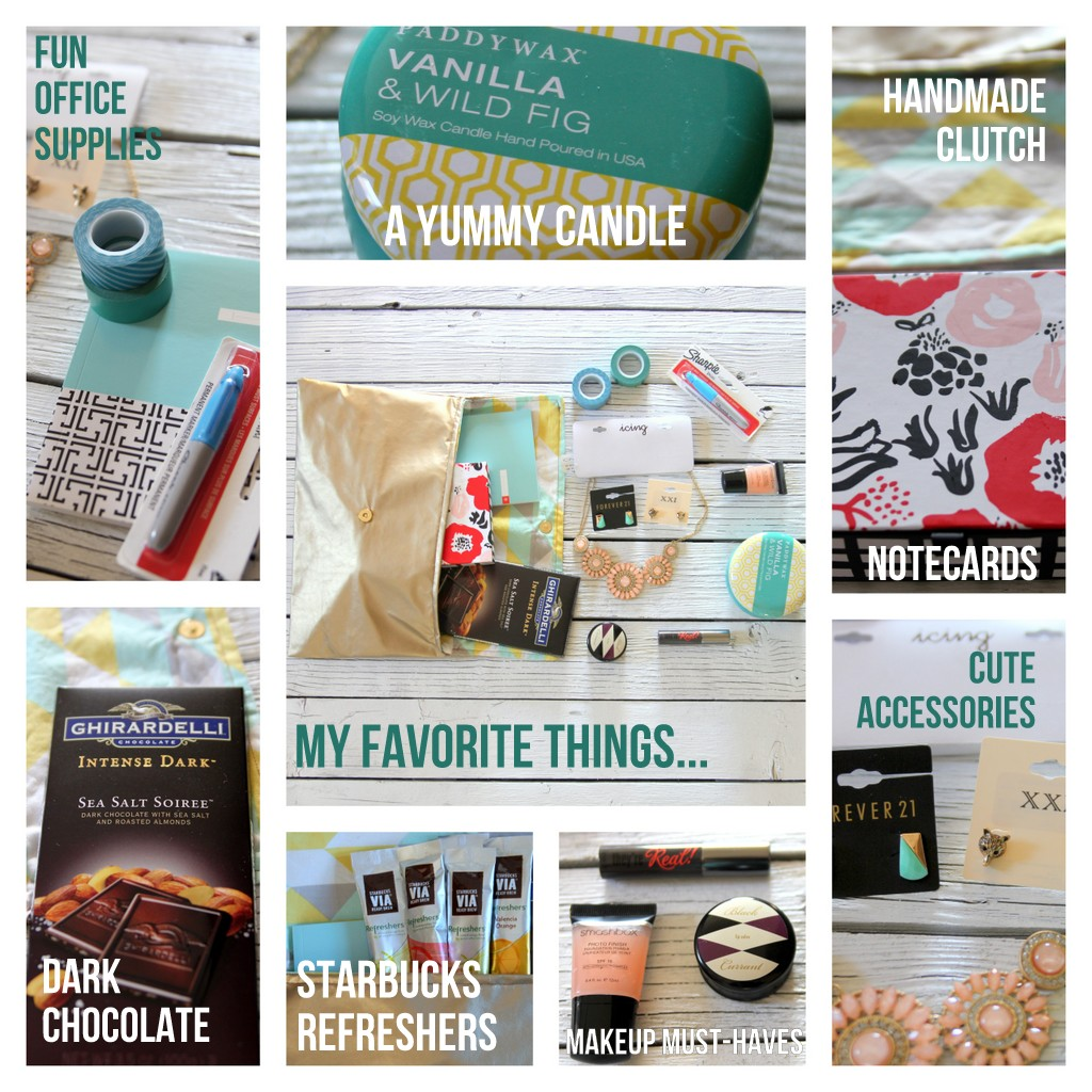 favorite things giveaway details