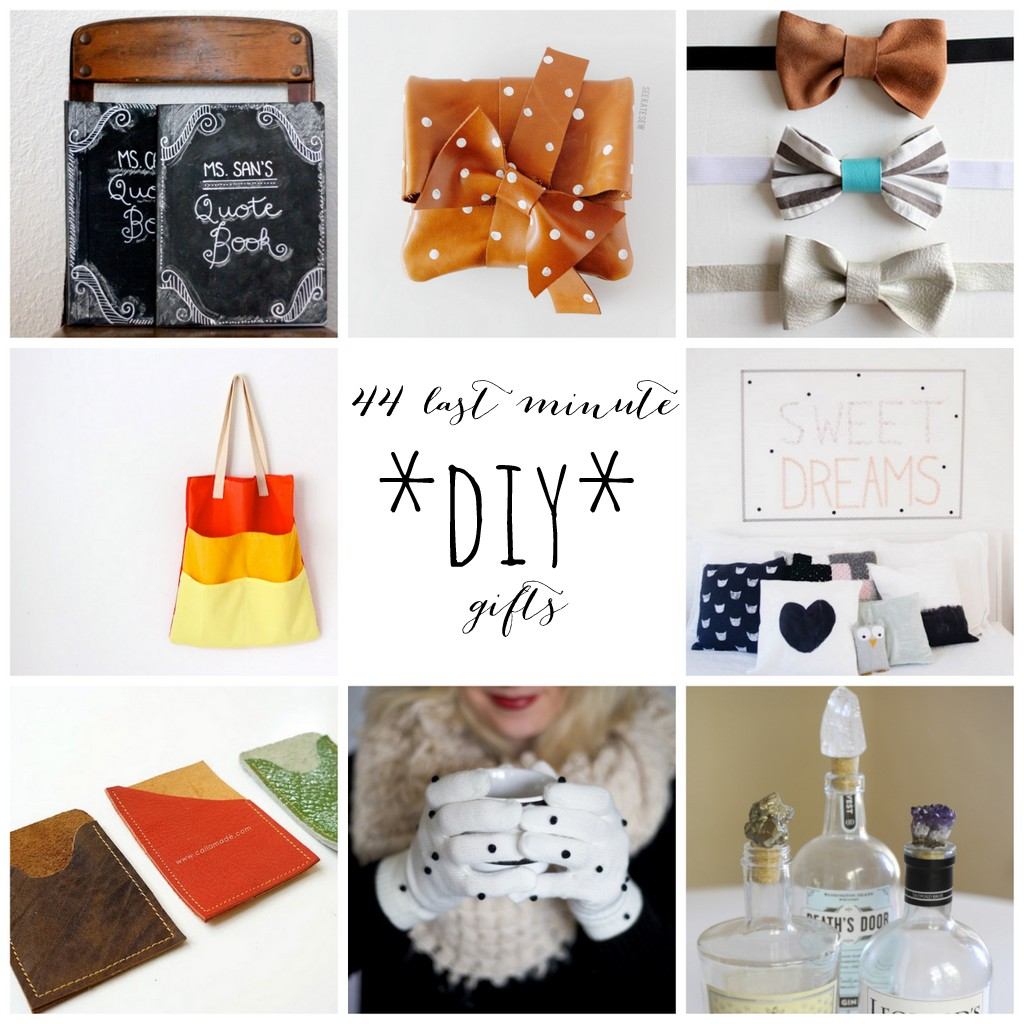 Last Minute Diy Gifts Make A Present In 45 Minutes Or Less