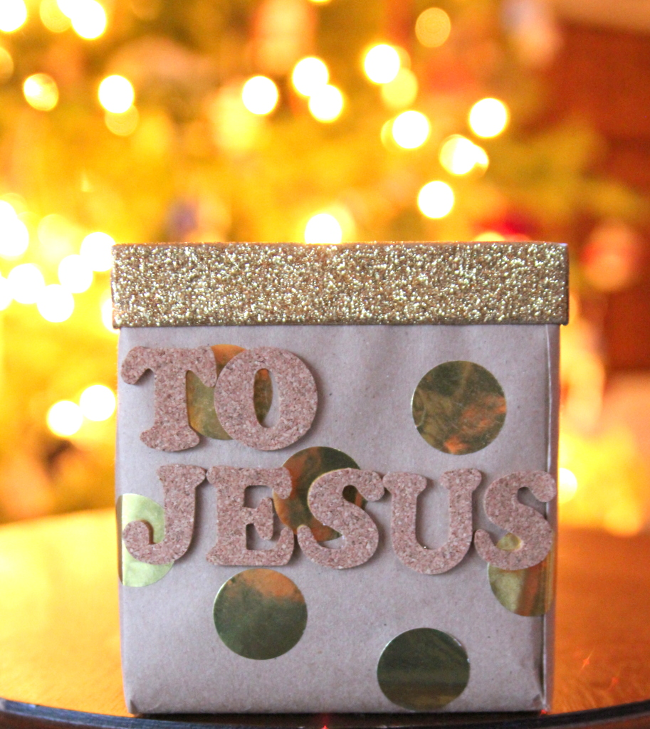 christmas traditions- a birthday gift for Jesus