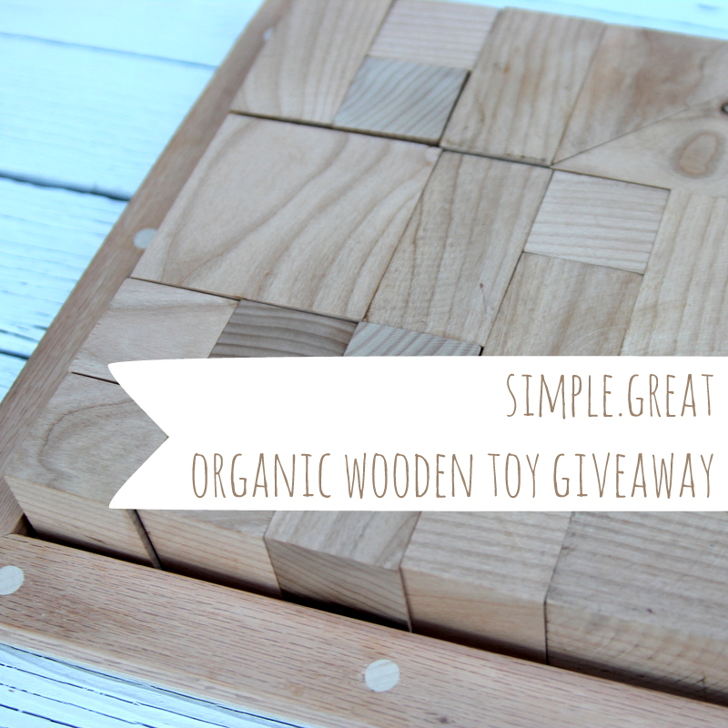 simple.great- organic wooden toy giveaway