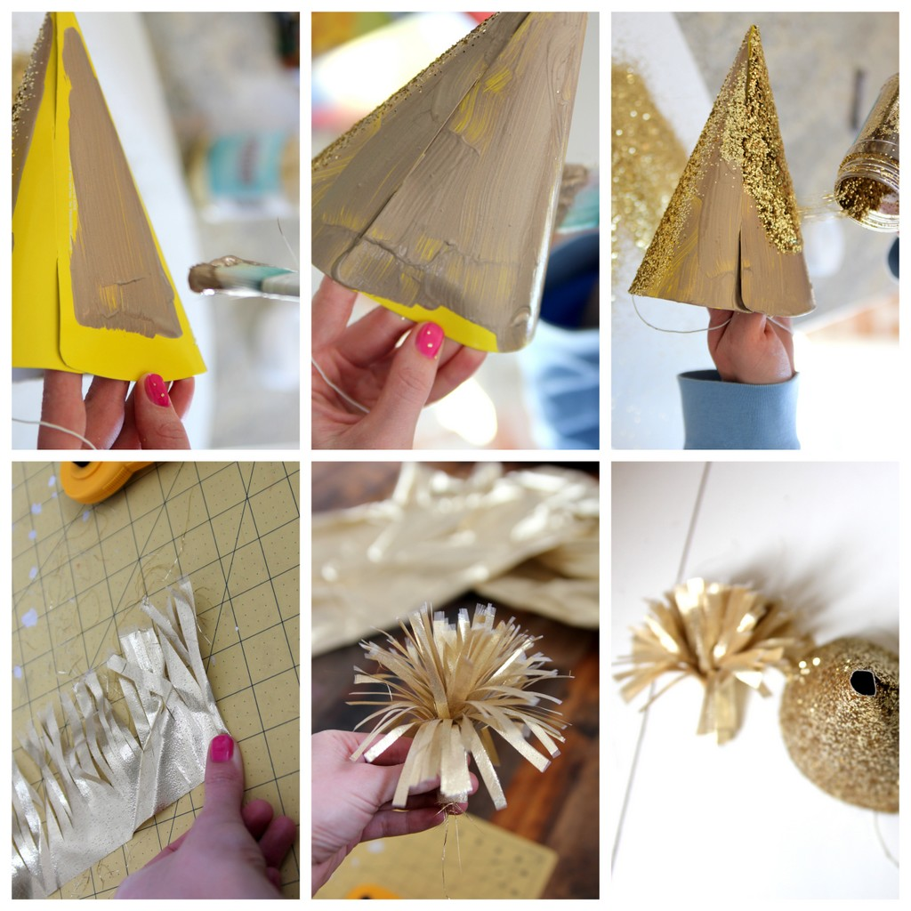 how to make a glitter hat