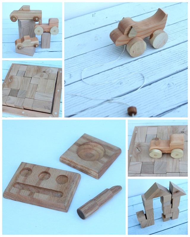 simple great handcrafted wooden toys