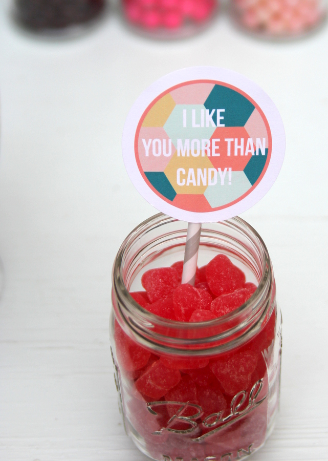 free printable valentine candy labels