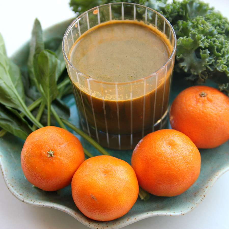 cold buster green juice
