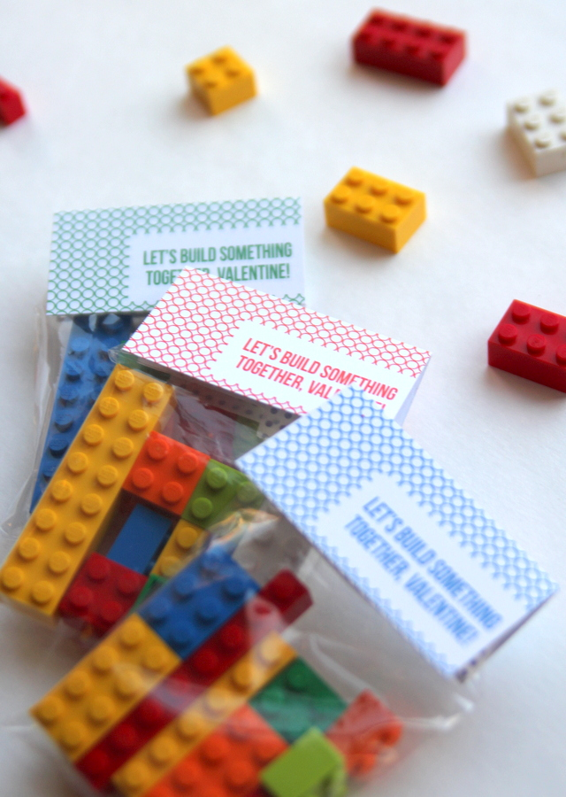 free printable valentine lego labels