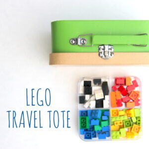 a long long trip (and a lego travel tote)