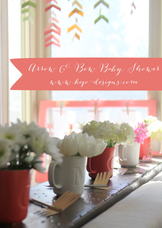 arrows and bows baby shower