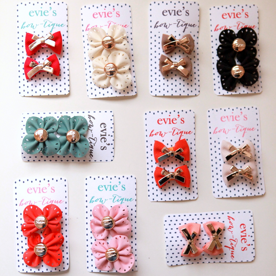 bow birthday party favors