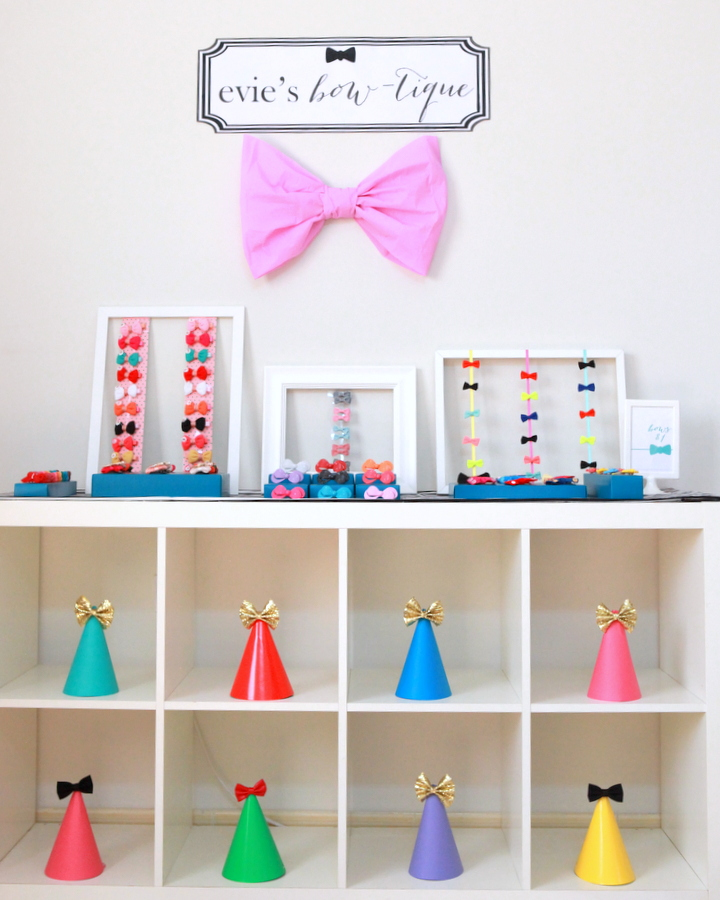 the perfect little party bow-tique