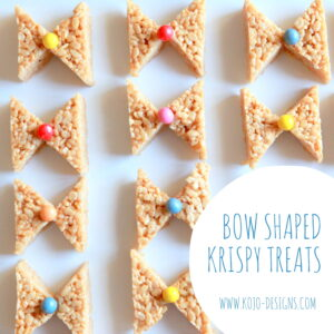 bow shaped treats