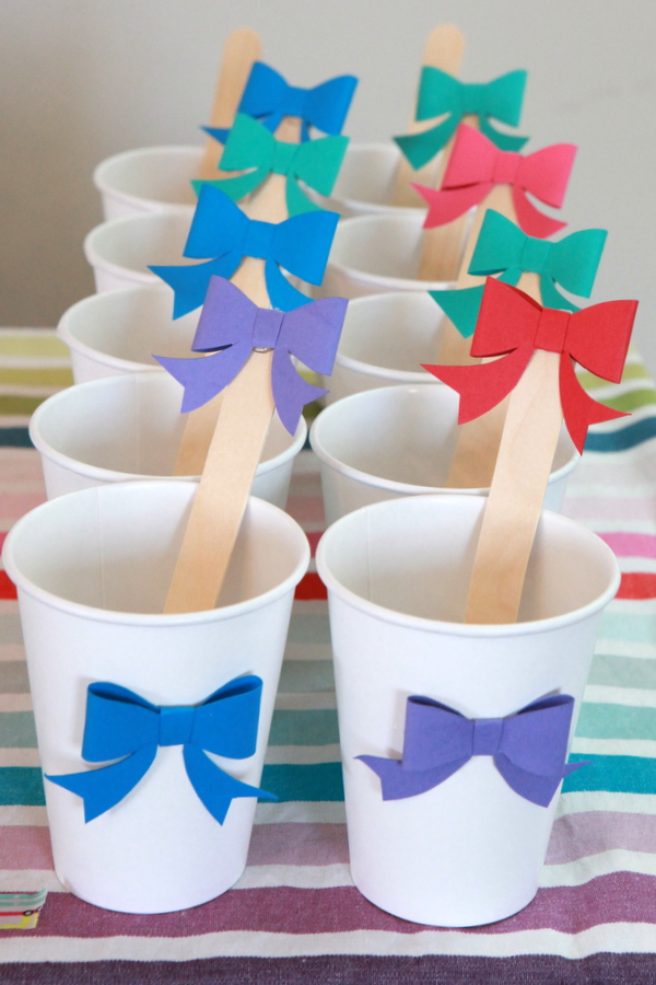 bow party menu