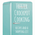 Overwhelmed by the idea of cooking from scratch every night? You don't have to be! With one afternoon, a little planning, and some chopping, you'll have a whole lineup of yummy dinners ready to pop into the crockpot or oven whenever you're ready. Head on over to kojodesigns to get all the recipes