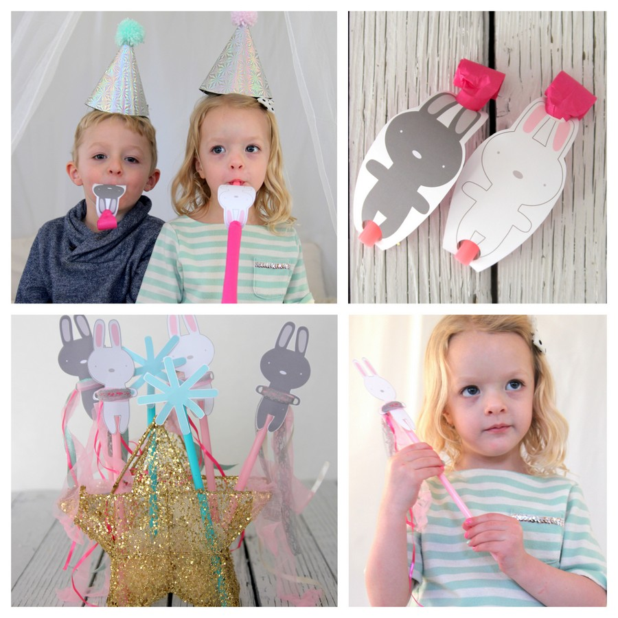 snow bunny themed first birthday party activity ideas