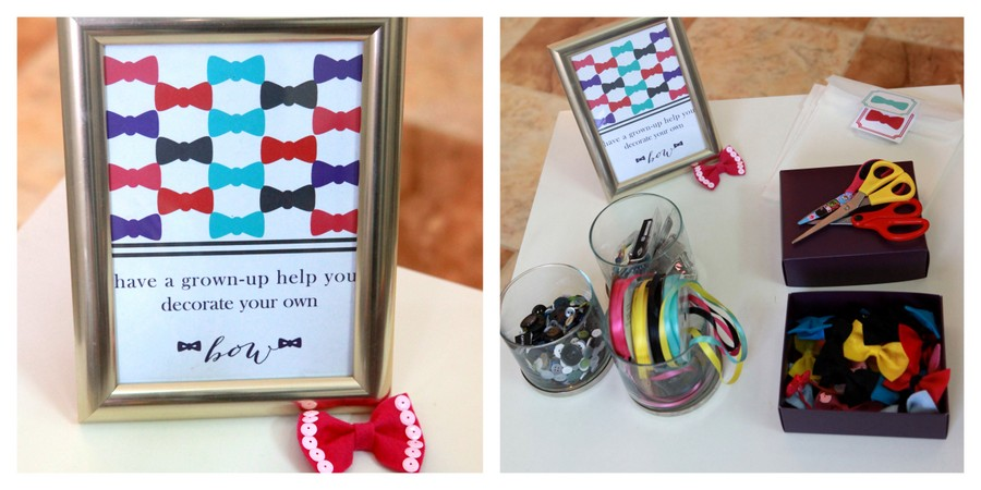 bow party activity station